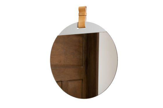 Grand miroir d'entrée à sangle Détouré