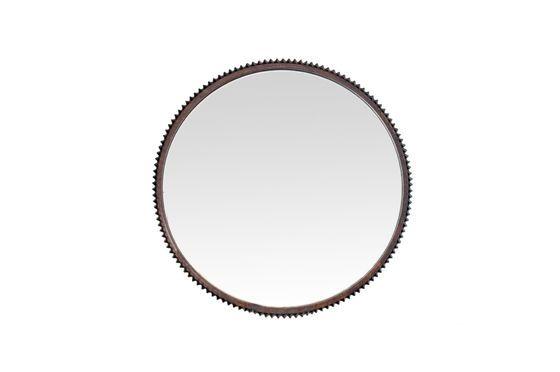 Grand miroir rond Nathan Détouré