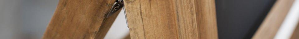 Mise en avant matière Grand tableau noir en bois Léon