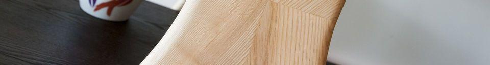 Mise en avant matière Grande bibliothèque en bois Waverly