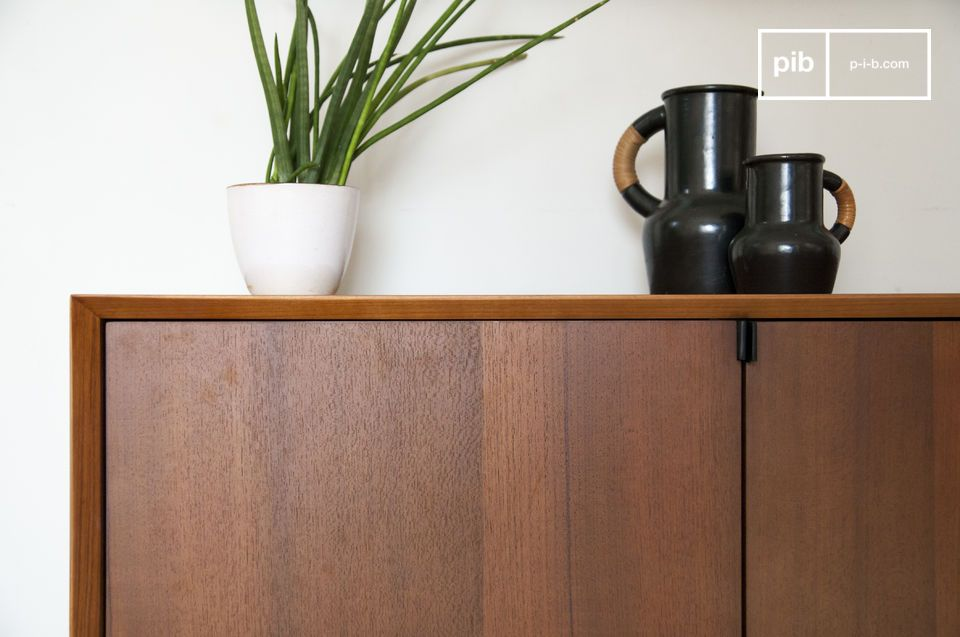 Grand format, bois de Teck et design mi-XXème