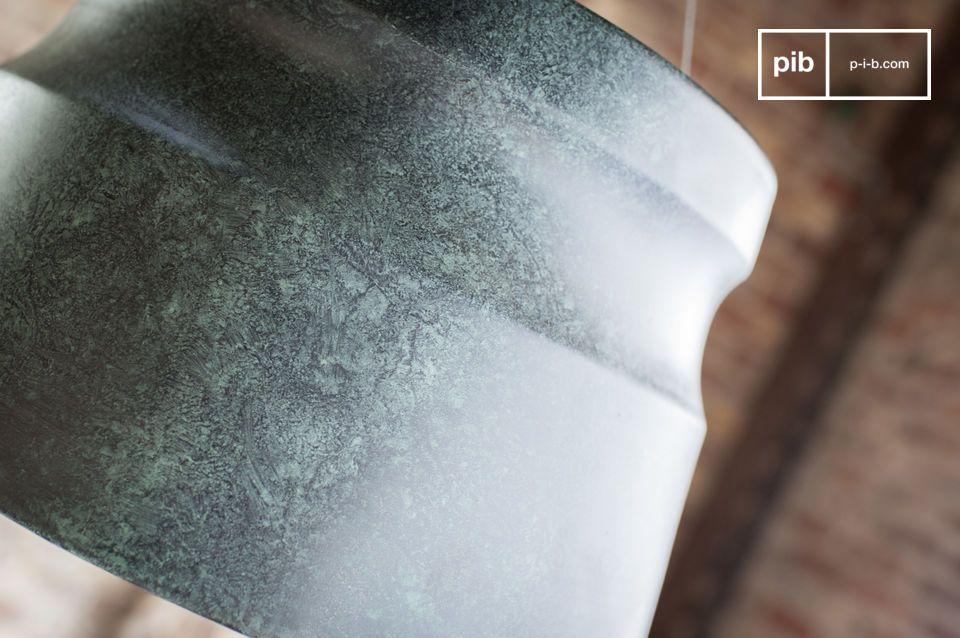 Craquez pour une lampe couleur ardoise aux effets marbrés pour votre pièce à vivre