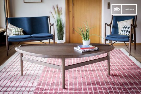 Grande table basse triangulaire Arne