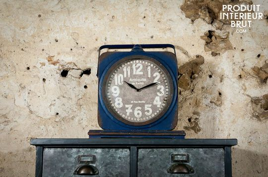 Horloge Blue Cargo
