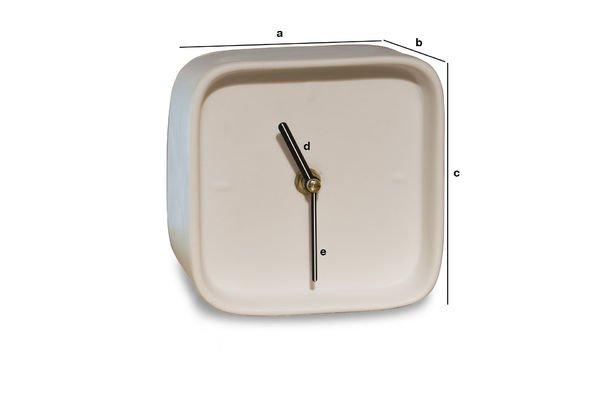 Dimensions du produit Horloge en porcelaine Fjorden