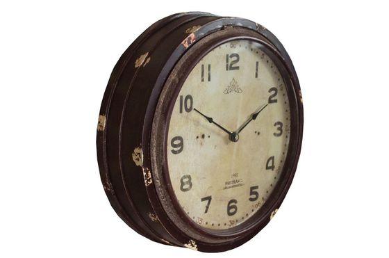 Horloge Wood Factory Détouré