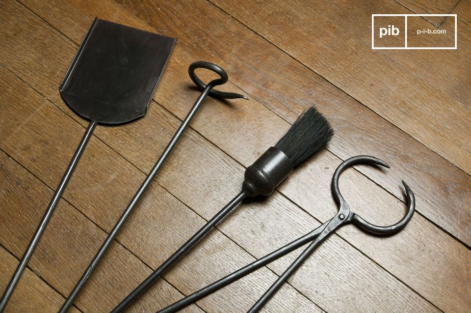 Le kit d\'outils de cheminée est un ensemble d\'ustensiles qui embelliront votre cheminée et
