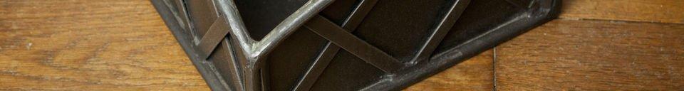 Mise en avant matière Kit outils de cheminée