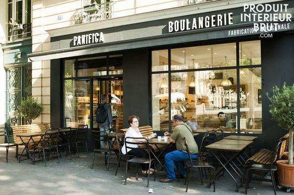La boulangerie Panifica à Paris