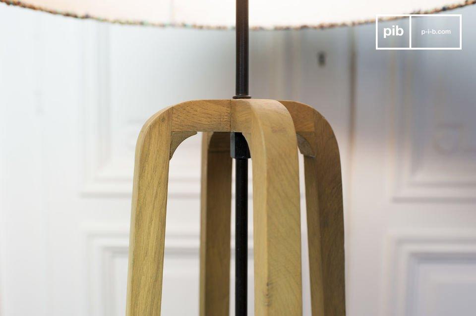La délicatesse du design scandinave et du chêne verni