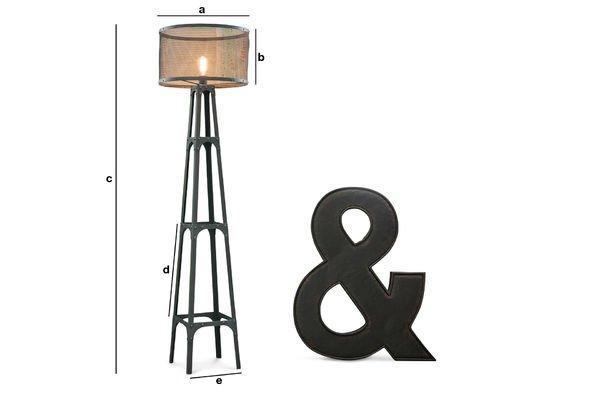 Dimensions du produit Lampadaire Hornby