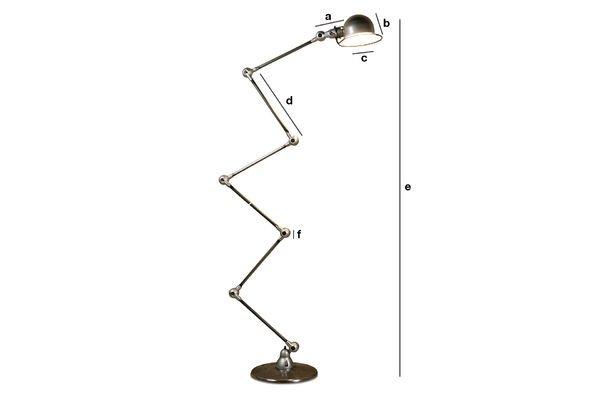 Dimensions du produit Lampadaire Jieldé Loft