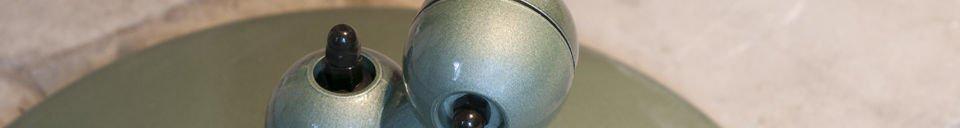 Mise en avant matière Lampadaire Jieldé Loft Vert Vespa