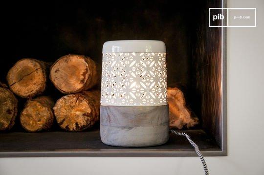Lampe scandinave à poser lënie
