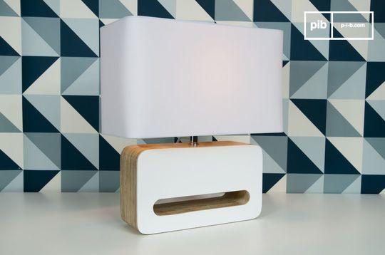 Lampe à poser Wood White