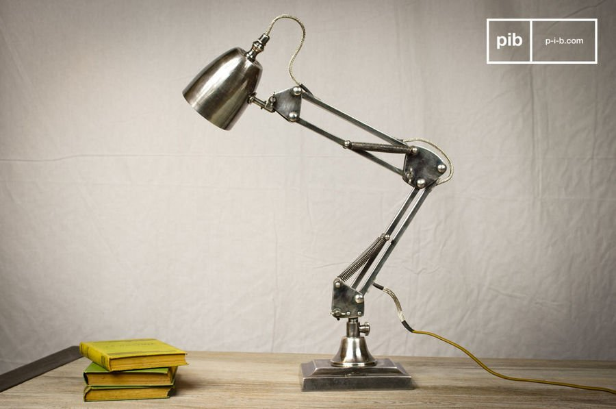 Lampe A Ressorts 1957 detail 2