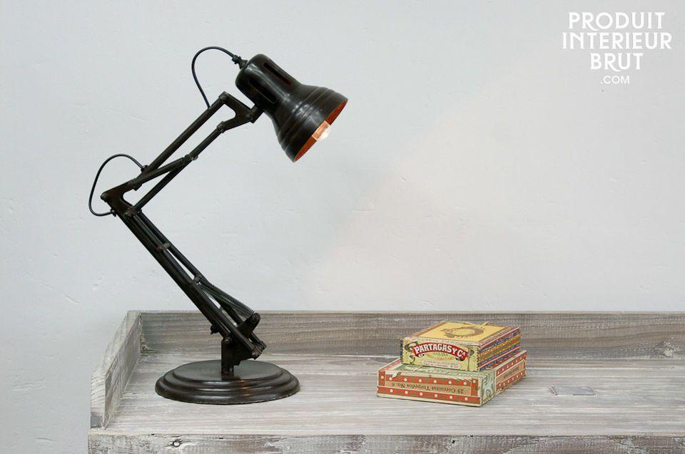 Lampe articulée à ressorts
