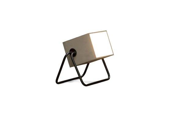Lampe Concrete Box Détouré