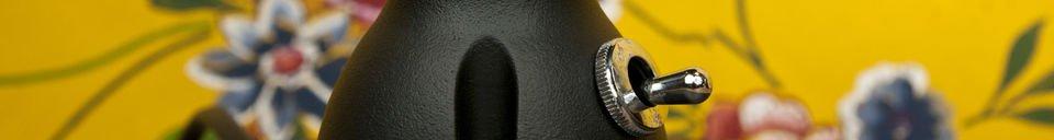 Mise en avant matière Lampe de bureau Jieldé Signal