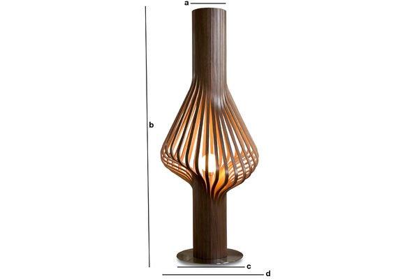 Dimensions du produit Lampe de salon Diva