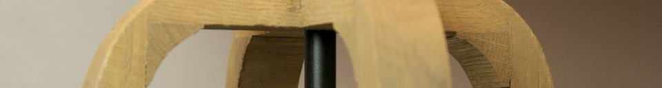 Mise en avant matière Lampe de table Andersen