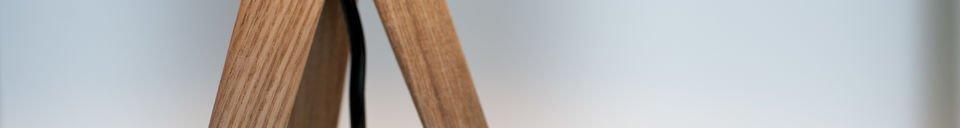 Mise en avant matière Lampe de table Kavinskï