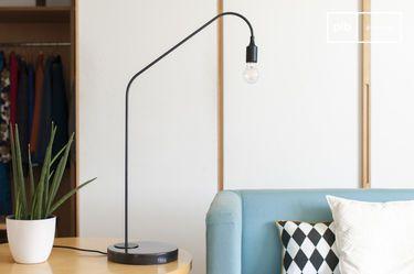 Lampe de table noire Mogens