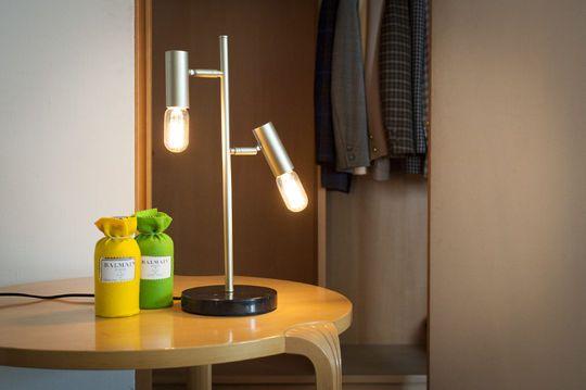 Lampe style scandinave de table rétro lubeck