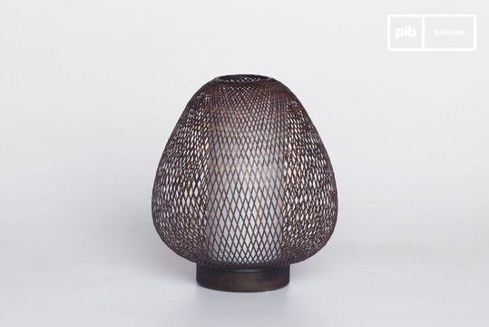 Lampe de table Skib Brown