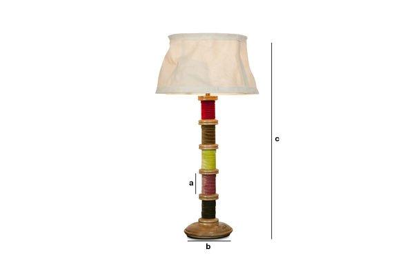 Dimensions du produit Lampe Douce Mercerie