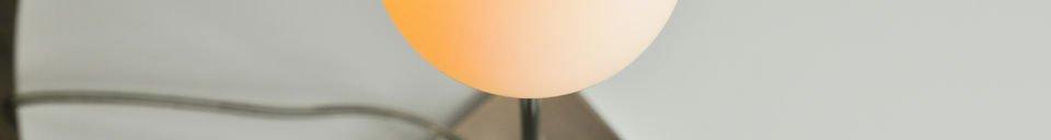 Mise en avant matière Lampe Douglas