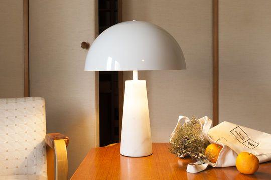 Lampe scandinave en marbre boissoudy