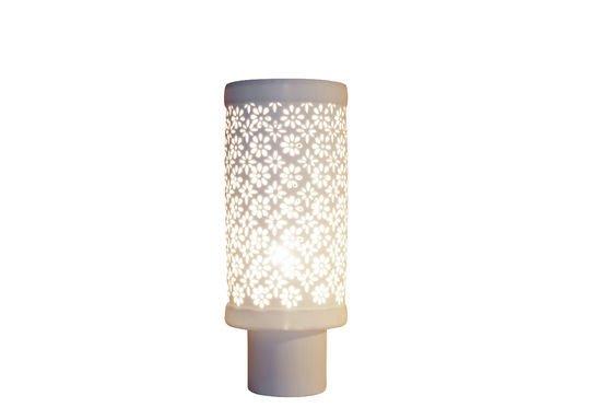Lampe en porcelaine Flowers Détouré