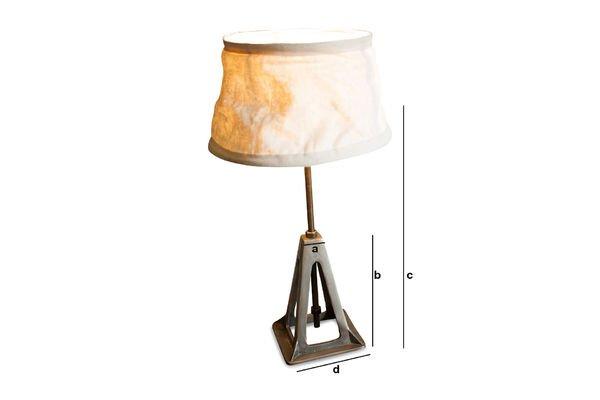 Dimensions du produit Lampe Éprion
