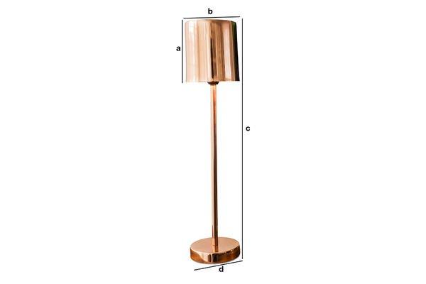 Dimensions du produit Lampe Gryde
