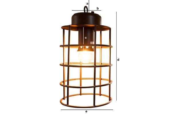 Dimensions du produit Lampe Nautilus