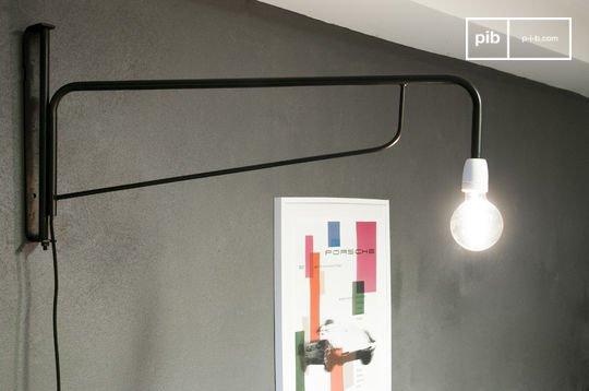 Lampe-potence d'atelier