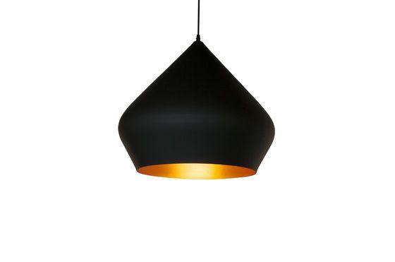 Lampe suspendue bombé noire Liselotte Détouré