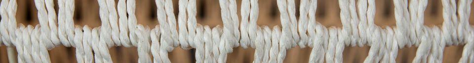 Mise en avant matière Lampe suspendue Cable Drop