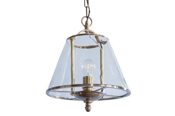 Lampe suspendue en verre Lacanau Détouré