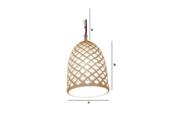 Dimensions du produit Lampe suspendue Hoffen