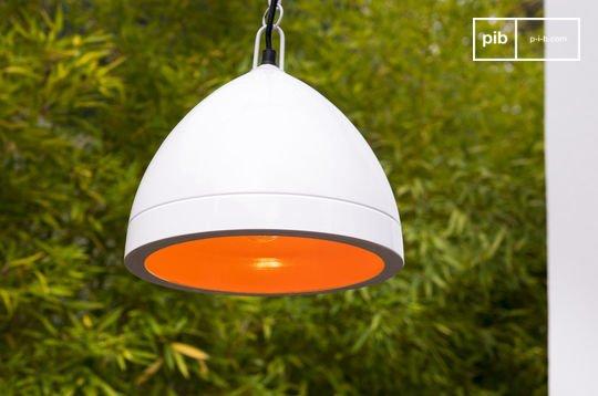 Lampe suspendue Këpsta blanche