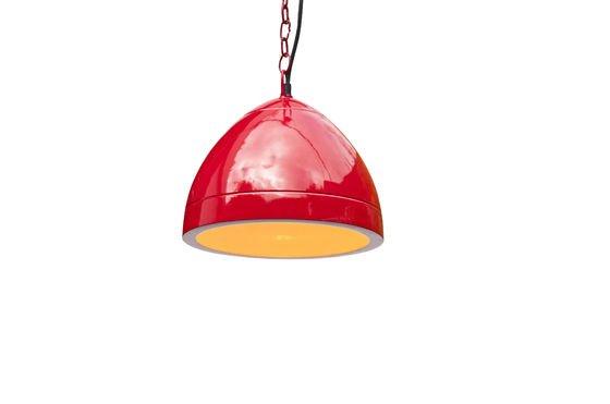 Lampe suspendue Këpsta rouge Détouré