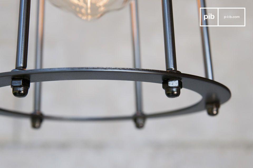 Lampe décorative à suspendre style indus?chic