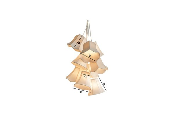 Dimensions du produit Lampe suspendue Mümmi