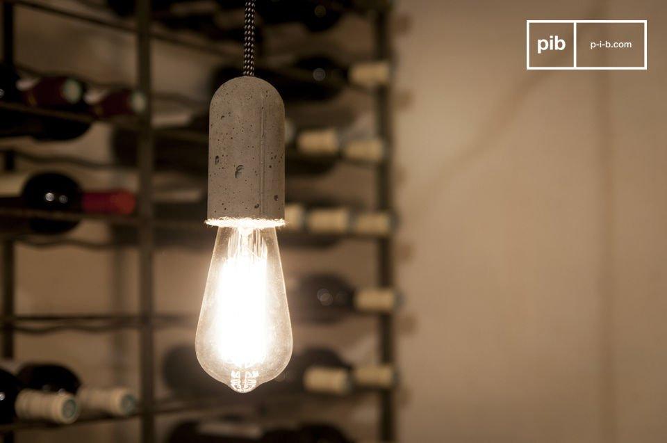 Lampe suspendue NUD Ciment