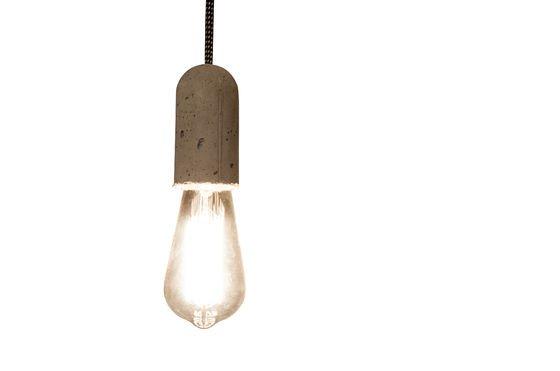 Lampe suspendue NUD Ciment Détouré