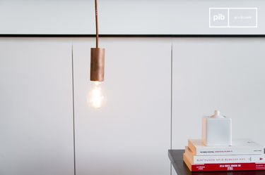 Lampe suspendue NUD Copper