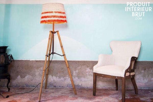 Lampe trépied Paimpol