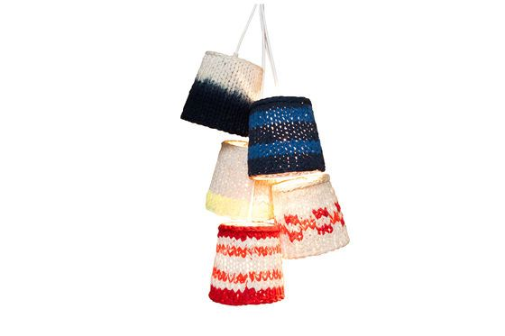 Lampes tricot Maty Détouré